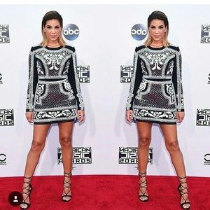 Bebe Balmain lookalike dress